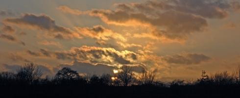 Emstrey sunset