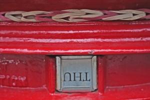 Post box loom band Andrew Howe