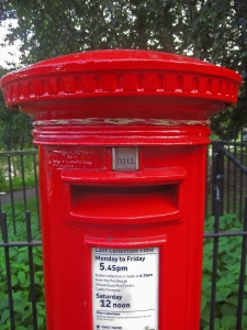 Post box loom band Andrew Howe